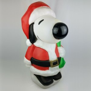 Santa Snoopy Blow-Mold
