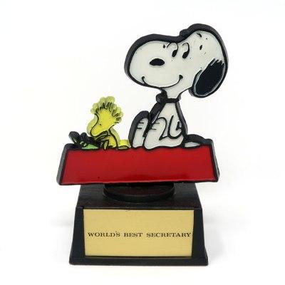 Snoopy Woodstock Secretary Trophy