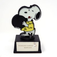 Snoopy Bowler Trophy