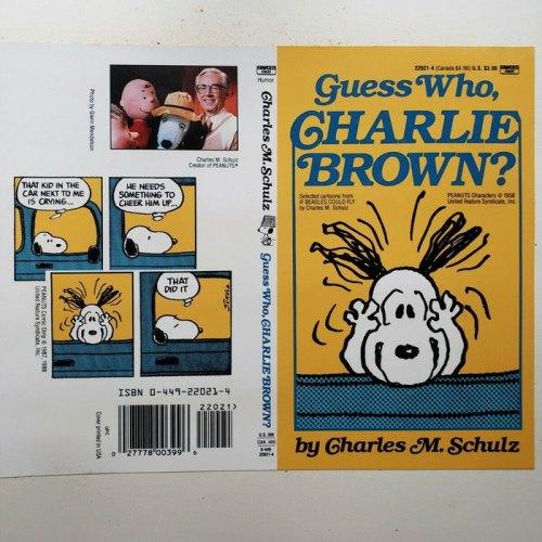 Peanuts Fawcett Crest Book Covers