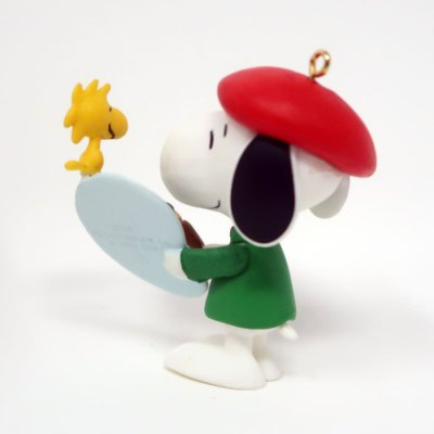 Artist Snoopy Ornament