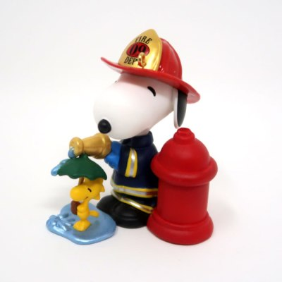 Firefighter Snoopy Ornament