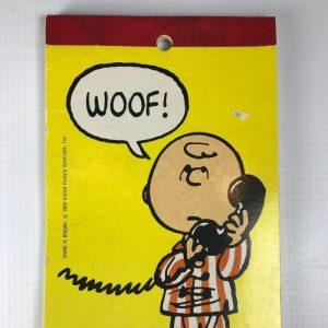 Charlie Brown Notepad