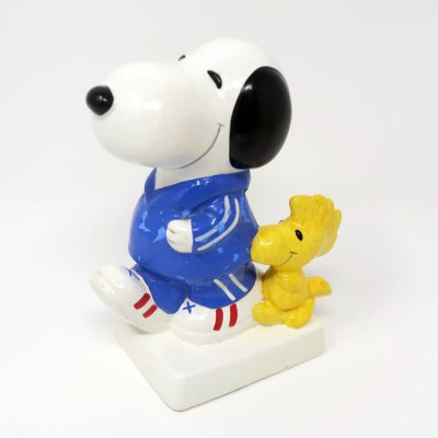 Jogging Snoopy and Woodstock Bank