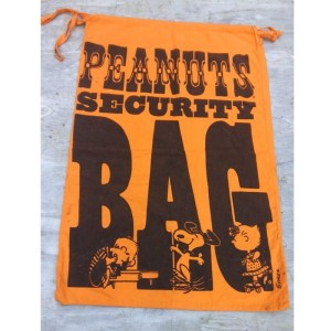 Peanuts Security Bag