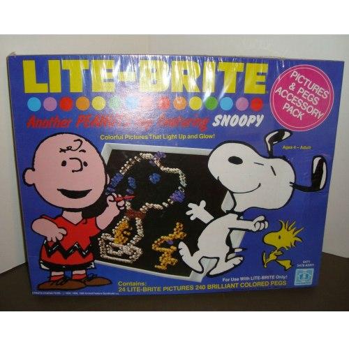Peanuts Lite-Brite Pictures