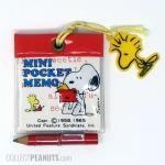 Snoopy and Woodstock Mini Pocket Memo