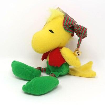 Woodstock Christmas Elf Plush