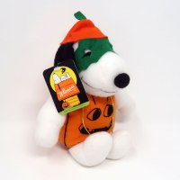 Snoopy Pumpkin Halloween Plush with tag