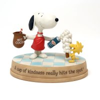 Snoopy and Woodstock Hot Cocoa Figurine