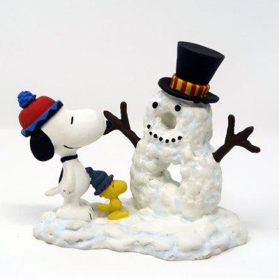 Snoopy Snowman #8 Figurine