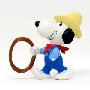 Cowboy Snoopy PVC Figurine