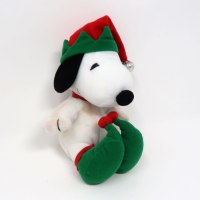 Snoopy Elf Christmas Plush
