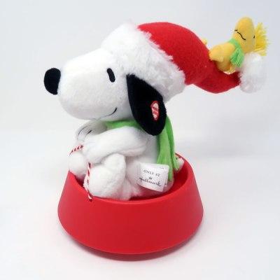 Sleddin' Snoopy Animated Christmas Plush