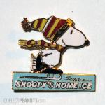 Snoopy Skating 'Snoopy's Home Ice' Pin