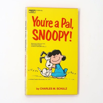 You're a Pal, Snoopy Book