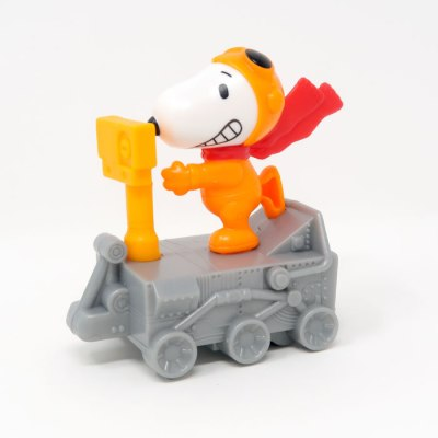 Snoopy Space Buggy Happy Meal Toy