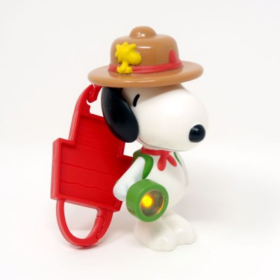 Beaglescout Snoopy Happy Meal Toy