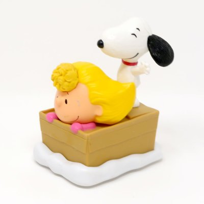 Snoopy and Sally Happy Meal Toy