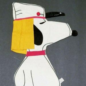 Snoopy Foreign Legionnaire Pajama Bag