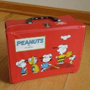 Peanuts Vinyl Lunch Box