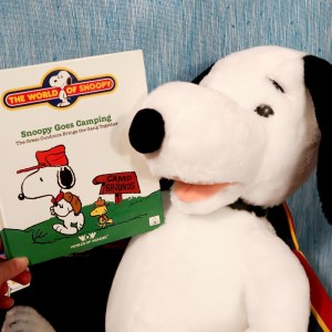Snoopy Goes Camping Storybook by Worlds of Wonder