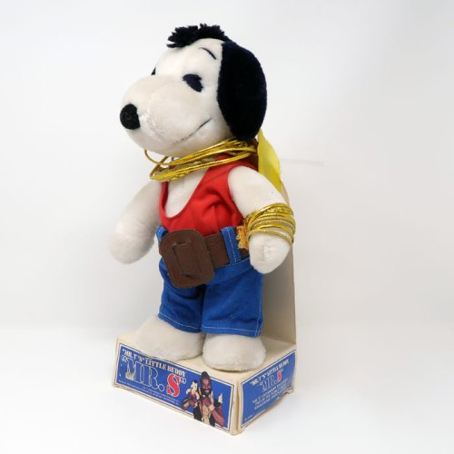 Snoopy Mr. S Plush Doll