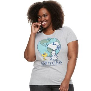 Peanuts Earth Day Shirts from Kohl's