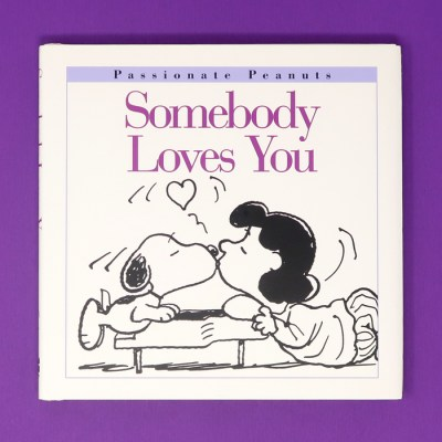 Somebody Loves You Peanuts Book