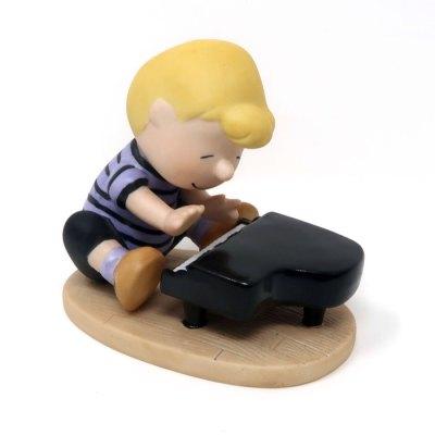 Schroeder at Piano Figurine