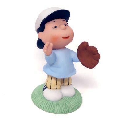 Lucy Baseball Figurine