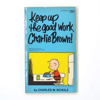 Keep Up the Good Work, Charlie Brown Book