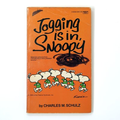 Jogging is In, Snoopy Book