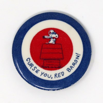 Snoopy Flying Ace Target Button