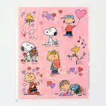 Peanuts Valentine's Day Stickers