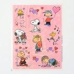 Peanuts Valentine's Day Stickers