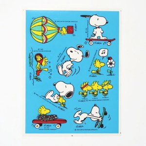 Snoopy & Woodstock Outdoors Stickers