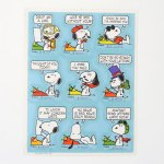 Snoopy 'Write Soon' Stickers