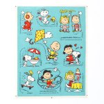 Peanuts Outdoor Activities Stickers