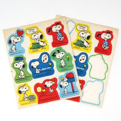 Snoopy Activities Stickers