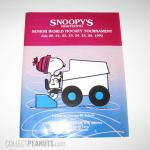 Snoopy's 18th Senior World Hockey Tournament Program
