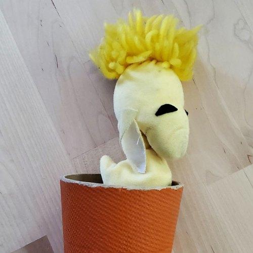 Woodstock Stick-em Up Toy