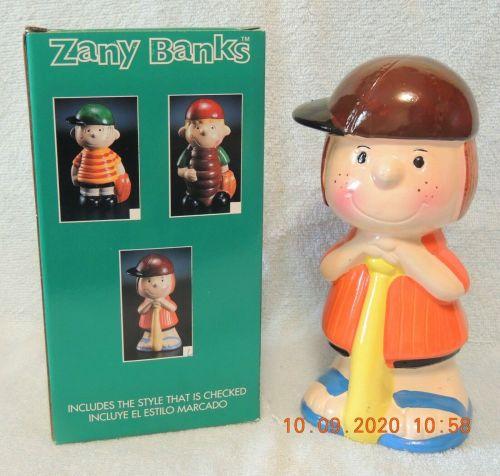 Baseball Peanuts Zany Banks