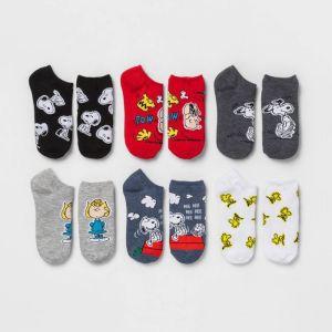 Peanuts socks from Target
