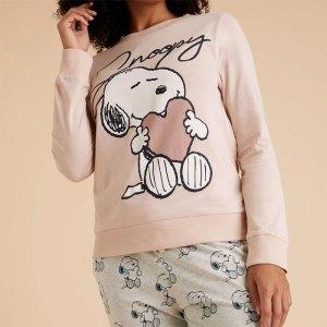 Peanuts pajamas from Marks & Spencer