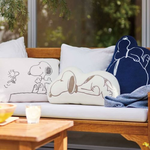 Snoopy Cozy Cushions and Apparel