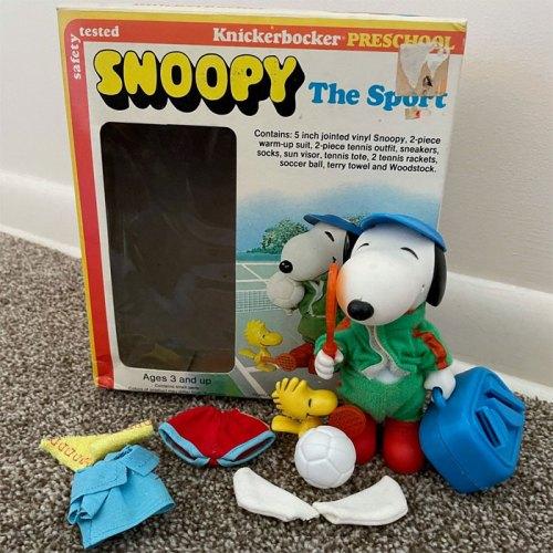 Knickerbocker Snoopy The Sport Doll