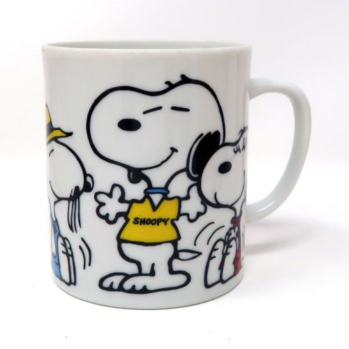 Snoopy, Belle and Spike Beagles Mug