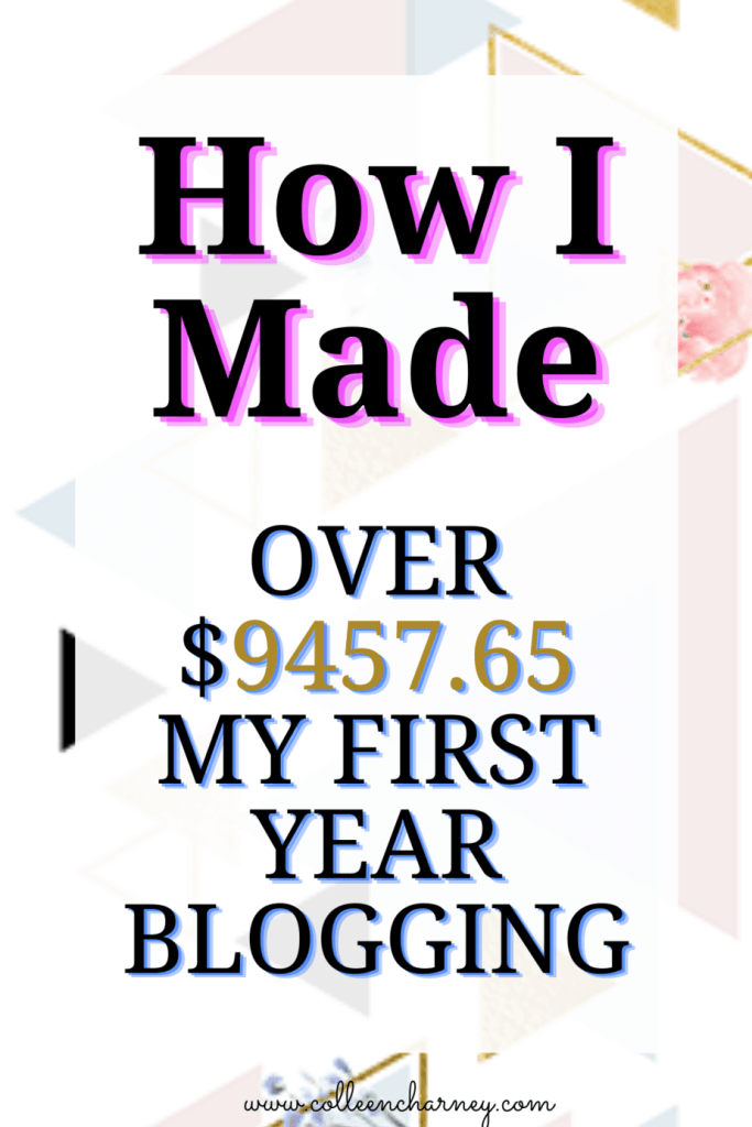 How I Made Money Blogging