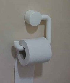 ... or toilet paper.